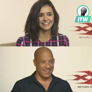 Nina Dobrev, Vin Diesel... la cascade complètement folle qu'ils veulent refaire en vrai (Interview)