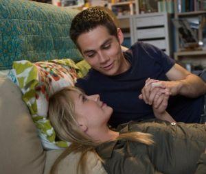 Dylan O'Brien et Britt Robertson se sont rencontrés sur le tournage du film The First Time