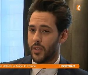 Gabano (Les Princes de l'amour 4) mannequin : découvrez son reportage dans le JT de France Ô
