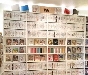 Une collection de jeux Wii hallucinante.
