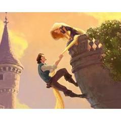 Rapunzel devient ... Tangled ... teaser du futur Walt Disney