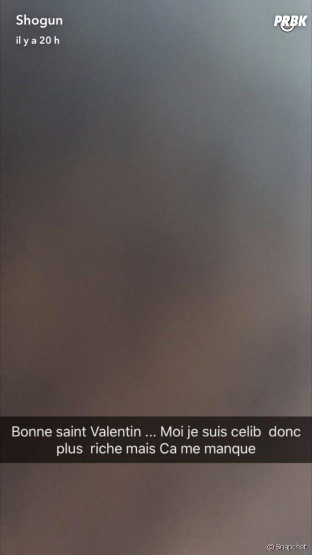 Vincent (Les Princes de l'amour 4) confirme son célibat sur Snapchat