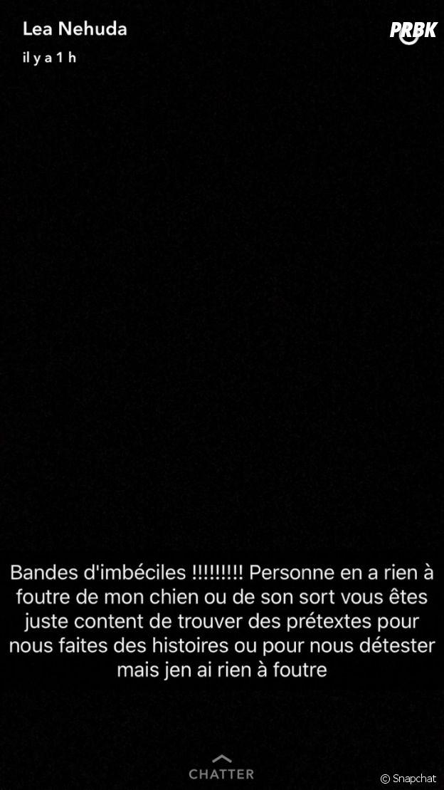 Nehuda (Les Anges 8) règle une nouvelle fois ses comptes sur Snapchat
