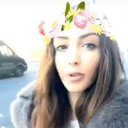 Nabilla Benattia dévoile un nouveau tatouage sur Snapchat et s'engage contre Donald Trump