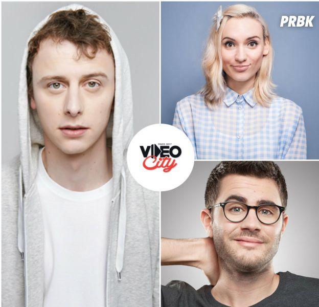 Cyprien, Norman, Natoo... Les youtubeurs humour confirmés à Video City Paris 2017