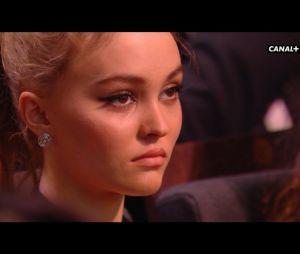 Lily Rose Depp déprimée aux Césars 2017 ? La photo qui amuse les internautes
