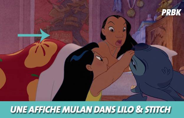 Disney : Mulan dans Lilo & Stitch