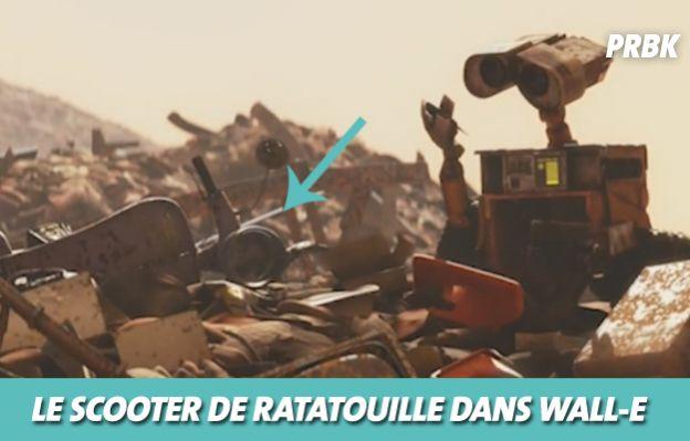 Disney : le scooter de Ratatouille dans Wall-E