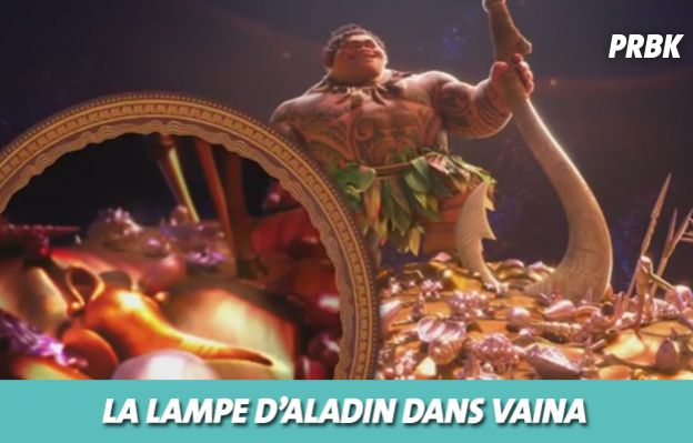 Disney : la lampe d'Aladin dans Vaiana