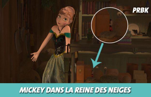 Disney : Mickey dans La reine des neiges