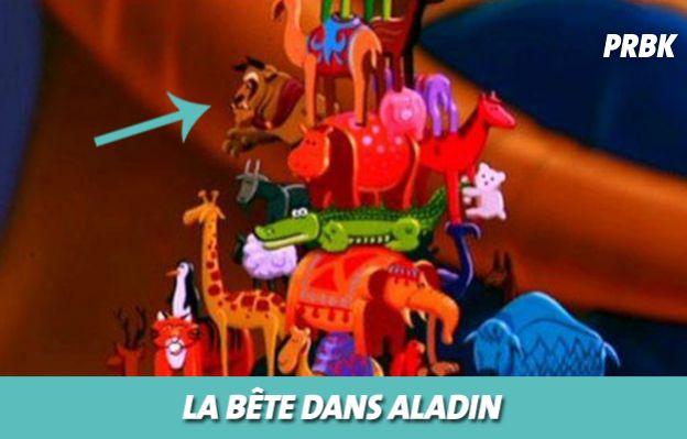 Disney : La Bête dans Aladin