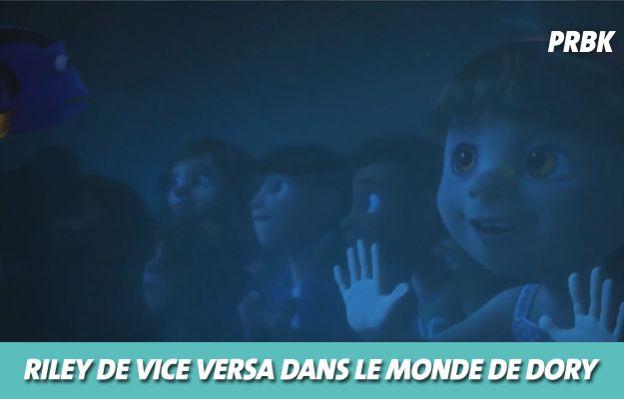 Disney : Riley dans Le monde de Dory