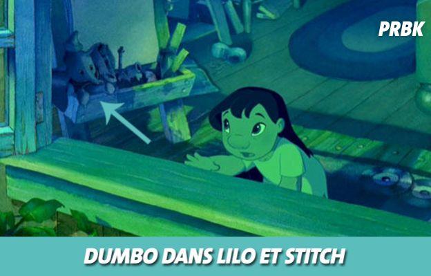 Disney : Dumbo dans Lilo et Stitch