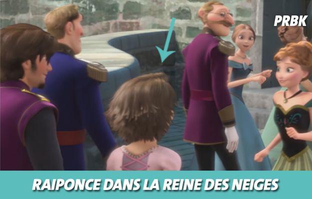Disney : Raiponce dans La reine des neiges