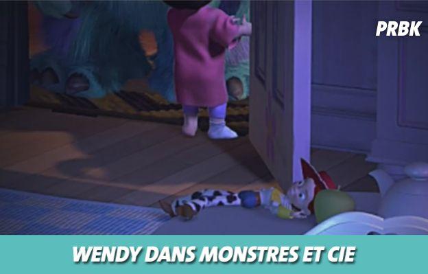 Disney : Wendy de Toy Story dans Monstres et Cie
