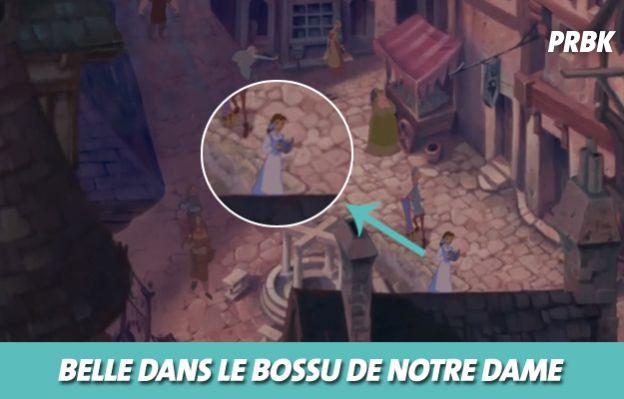 Disney : Belle dans Le bossu de Notre-Dame