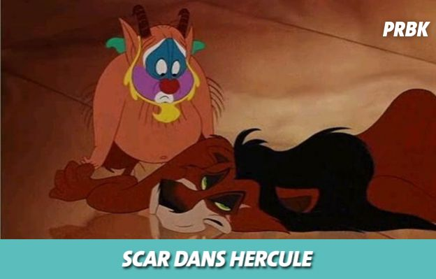 Disney : Scar dans Hercule