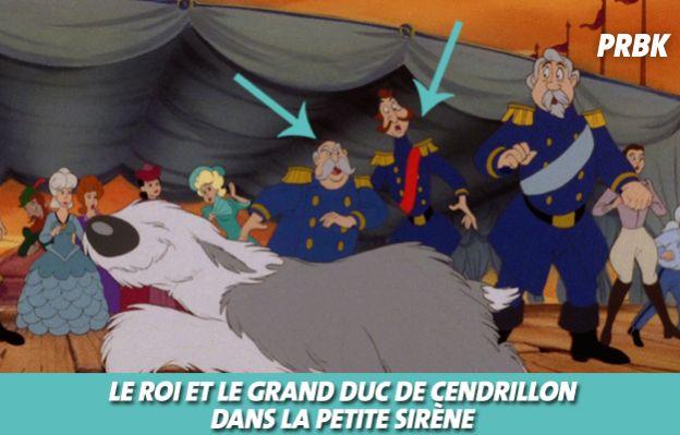 Disney : Le Roi de le grand Duc de Cendrillon dans La petite sirène