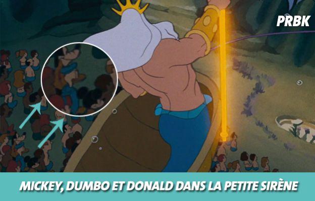 Disney : Dumbo, Donald et Mickey dans La petite sirène