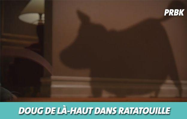 Disney : Doug de Là-Haut dans Ratatouille