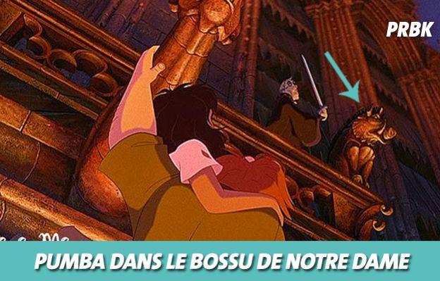 Disney : Pumba dans Le bossu de notre Dame