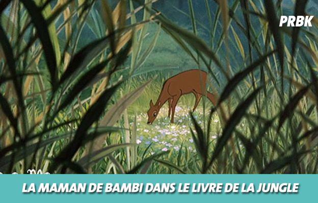 Disney : La maman de Bambi dans Le livre de la jungle