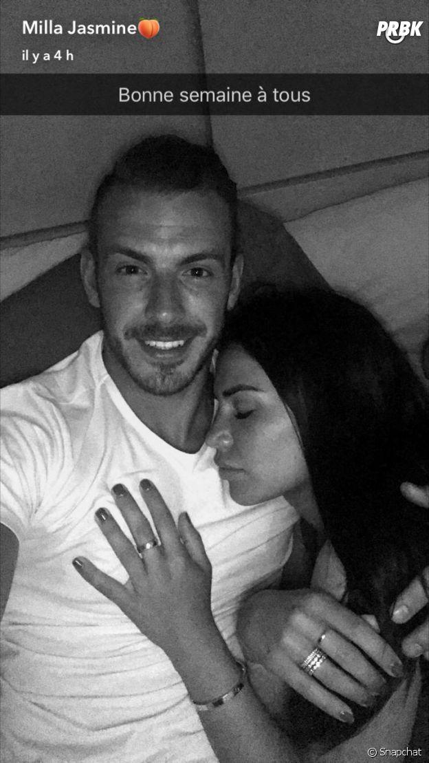 Milla Jasmine (Les Anges 9) et Julien Bert s'affichent en couple sur Snapchat