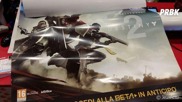 Photo du matériel promotionnel de Destiny 2