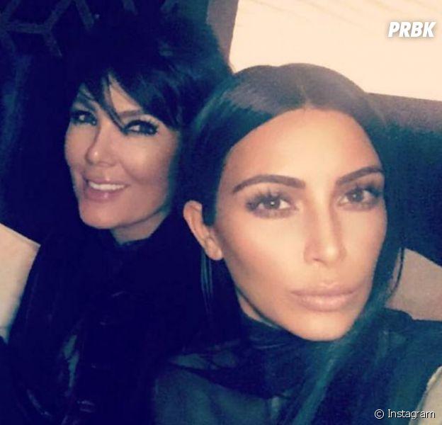 Kim Kardashian devient le sosie de sa mère Kris Jenner !