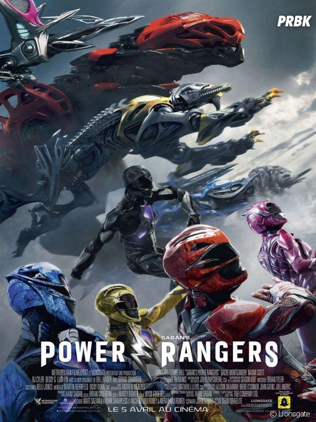 Power Rangers : découvrez l'affiche du film
