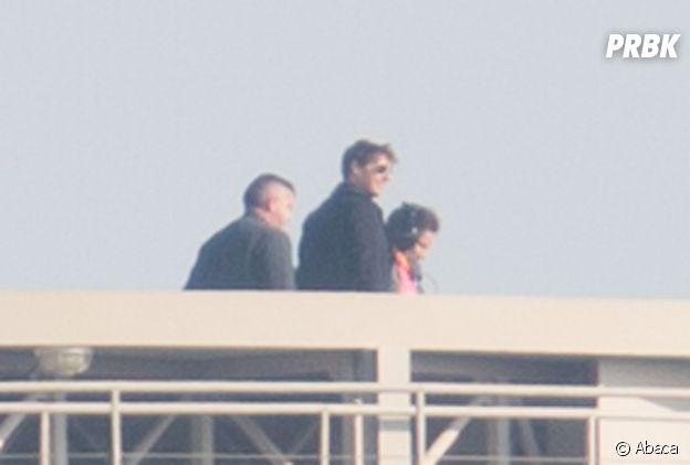 Tom Cruise dans le quartier de Bercy pour le tournage de Mission Impossible 6