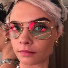 Cara Delevingne ose la coupe ultra courte et la couleur rose : sa nouvelle tête crée débat