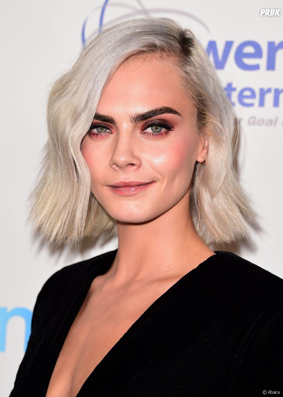 Cara delevingne nouvelle couleur de cheveux