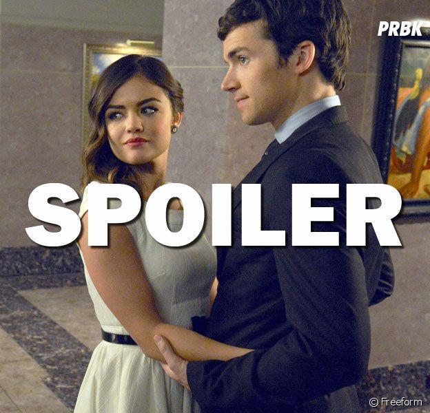 Pretty Little Liars saison 7 : un happy end à venir pour Aria et Ezra ?