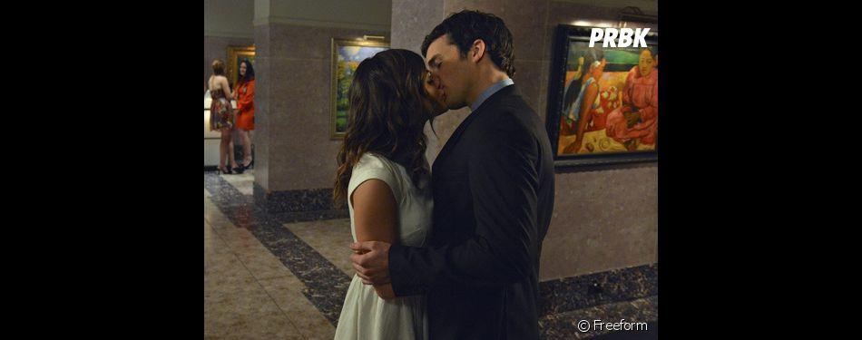 Pretty Little Liars saison 7 : un mariage pour Aria et Ezra ?