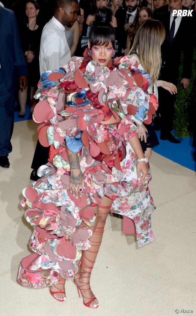 Rihanna au MET Gala 2017 le 1er mai à New York