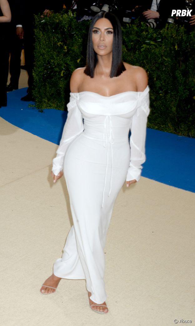 Kim Kardashian en tout simplicité au MET Gala 2017 le 1er mai à New York
