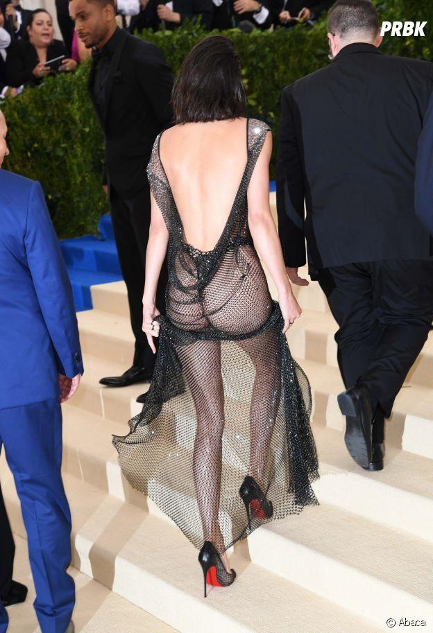 Kendall Jenner : sa tenue très transparente au MET Gala 2017 le 1er mai à New York