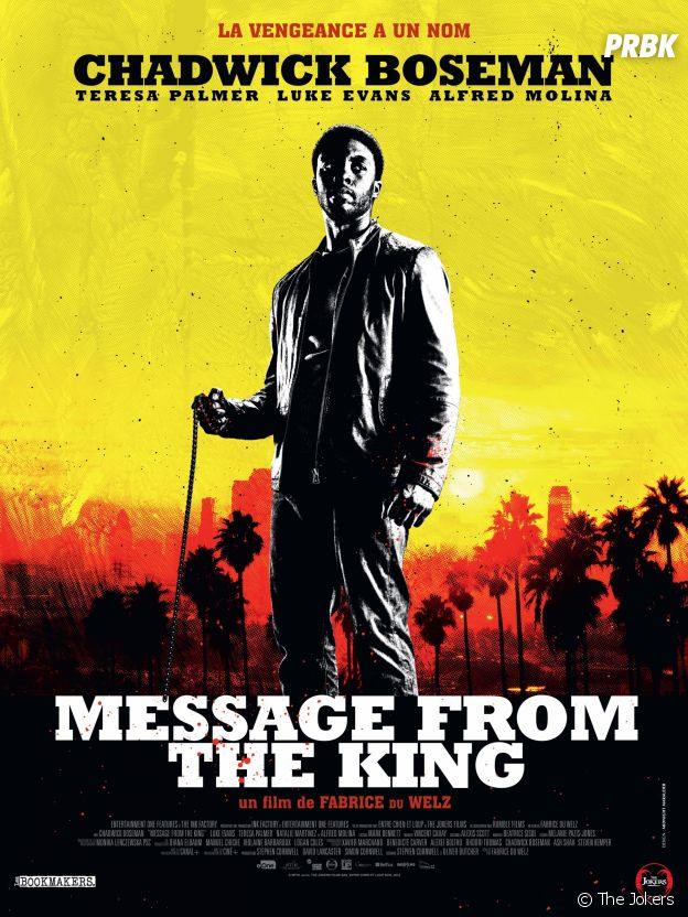 Affiche du film Message From The King.