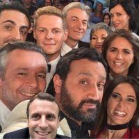 Emmanuel Macron fait rire avec son selfie détourné, Brigitte Macron fait baver avec sa tenue Vuitton