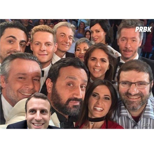 Emmanuel Macron : son selfie détourné