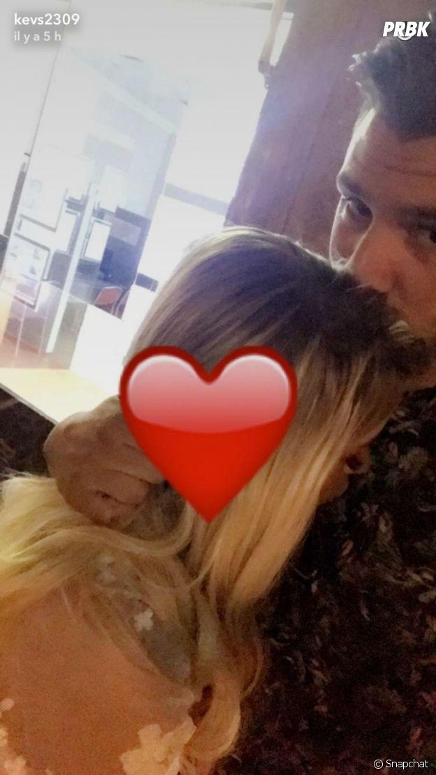 Kevin (Les Marseillais South America) et Carla en amoureux sur Snapchat