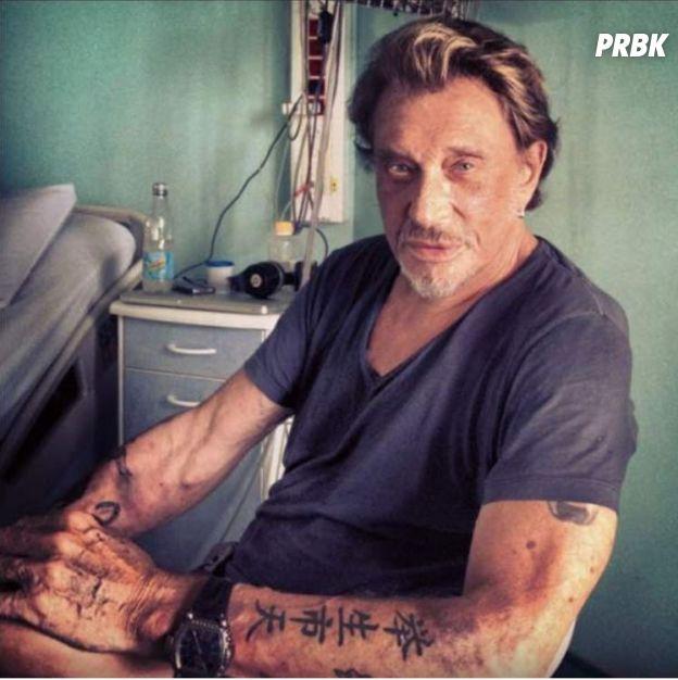 Johnny Hallyday et son tatouage Jade raté