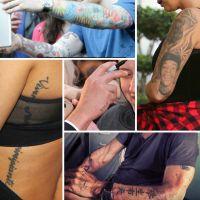 Tatouages de stars : fautes, prénoms d'ex, horreurs... Le festival des erreurs à ne pas reproduire