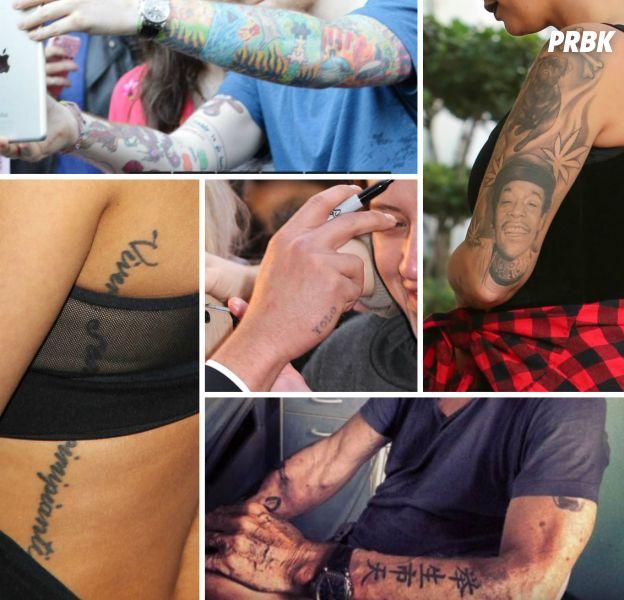 Les tatouages ratés des stars