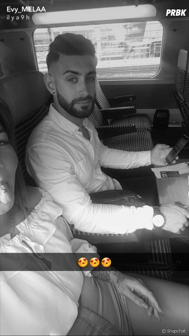 Evy (Les Anges 9) présente son petit ami sur Snapchat
