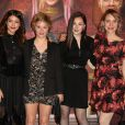 Les filles à l'avant-première du film Le Manoir le 9 juin 2017 au Grand Rex à Paris