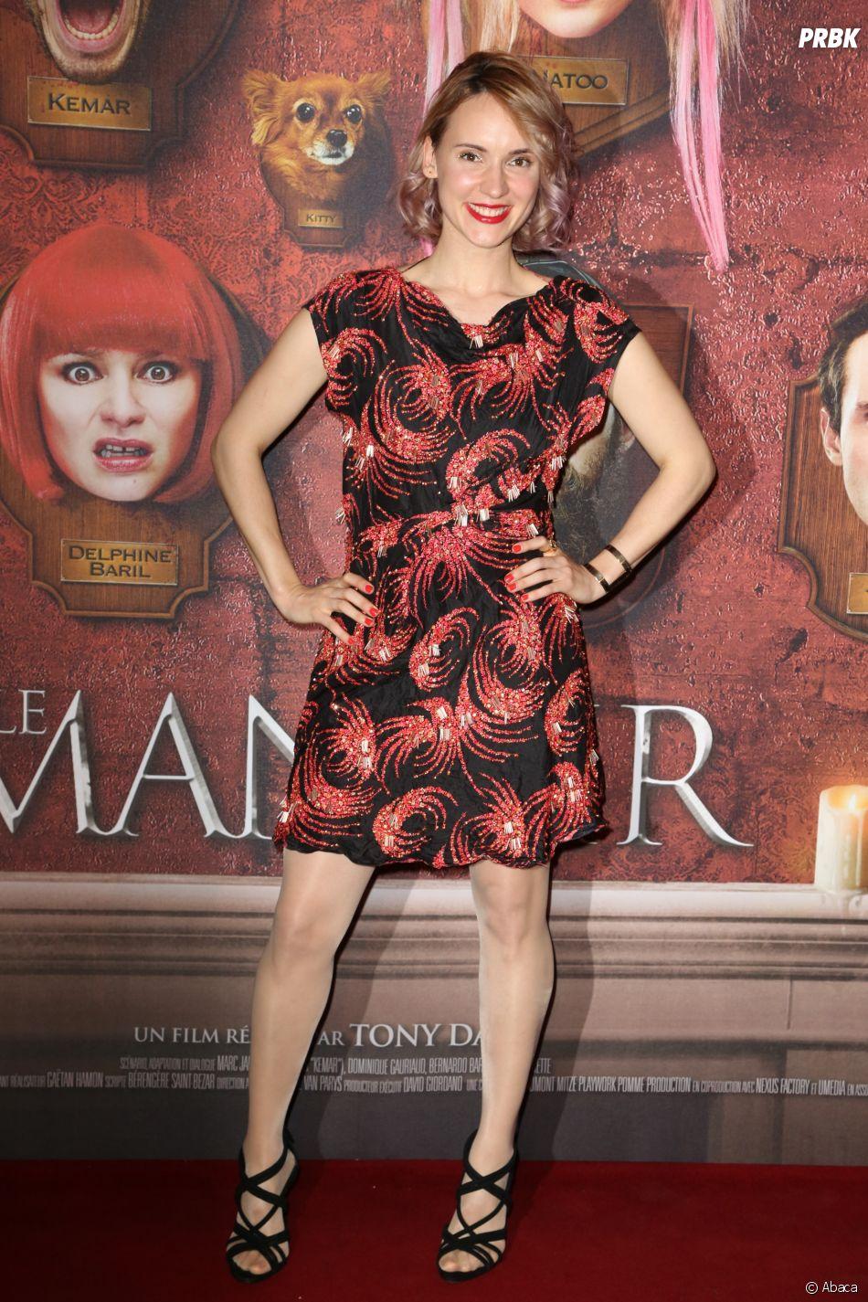 Natoo à l'avant-première du film Le Manoir le 9 juin 2017 au Grand Rex à Paris