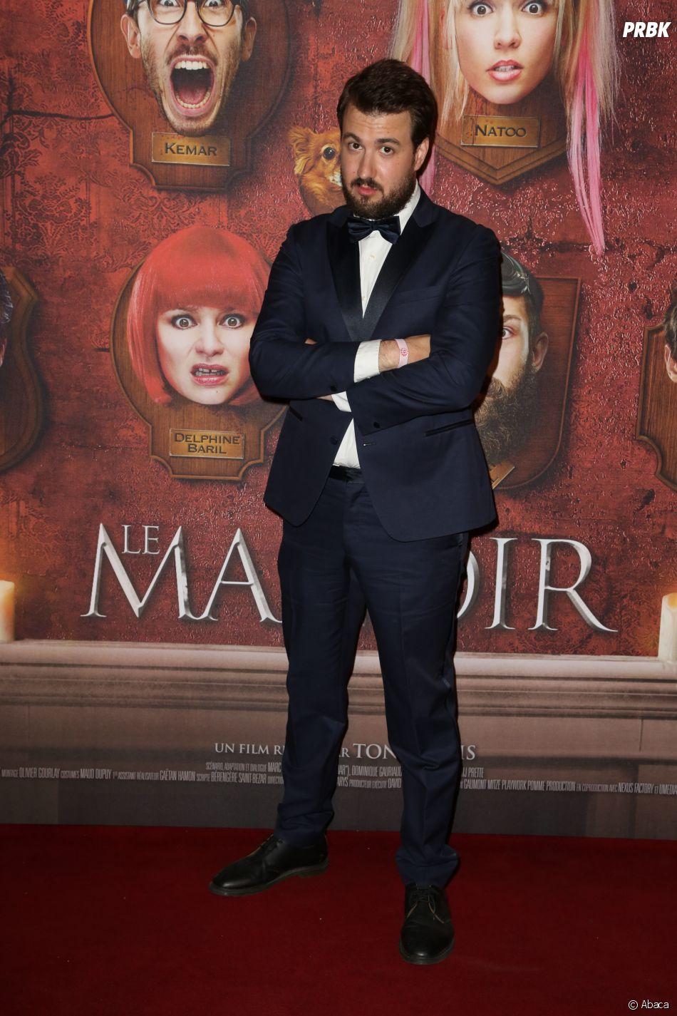 Ludovik à l'avant-première du film Le Manoir le 9 juin 2017 au Grand Rex à Paris