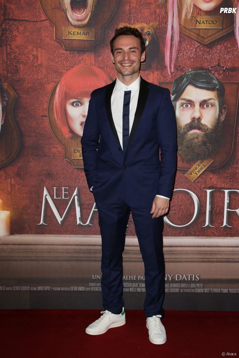 Jérôme Niel à l'avant-première du film Le Manoir le 9 juin 2017 au Grand Rex à Paris